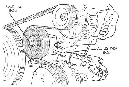 2009 Chrysler Sebring Serpentine Belt Diagram
