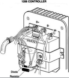 2010 Ezgo 36v Golf Cart Computer Wiring Diagram