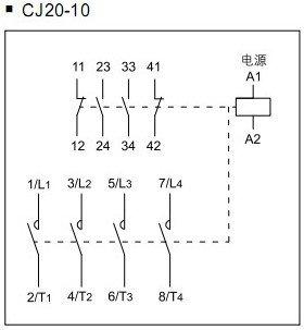 2no 2nc Contactor Wiring Diagram