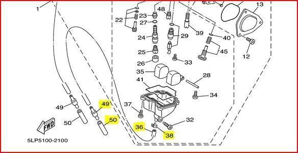 660 Raptor Carb Diagram