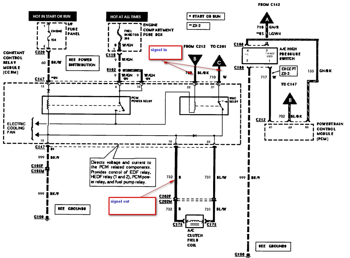 Ac Wac Wiring Diagram For 98 Ford Escort