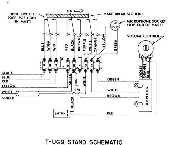 Astatic 636l Switch Wiring Diagram