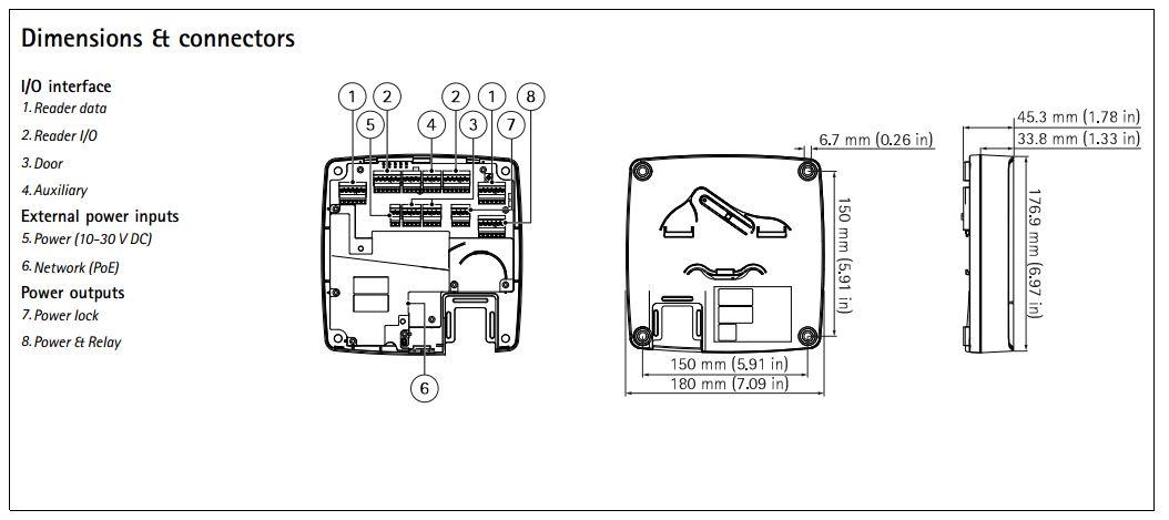 Axis A1001 Wiring Diagram