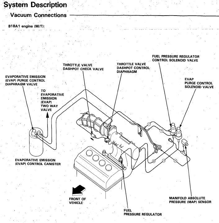 B18a1 Intake Manifold Diagram