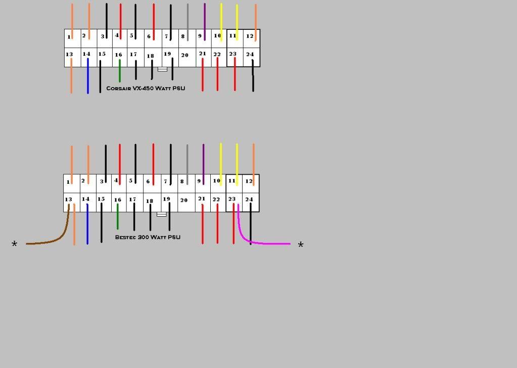 Bestec Atx-250-12z Wiring Diagram