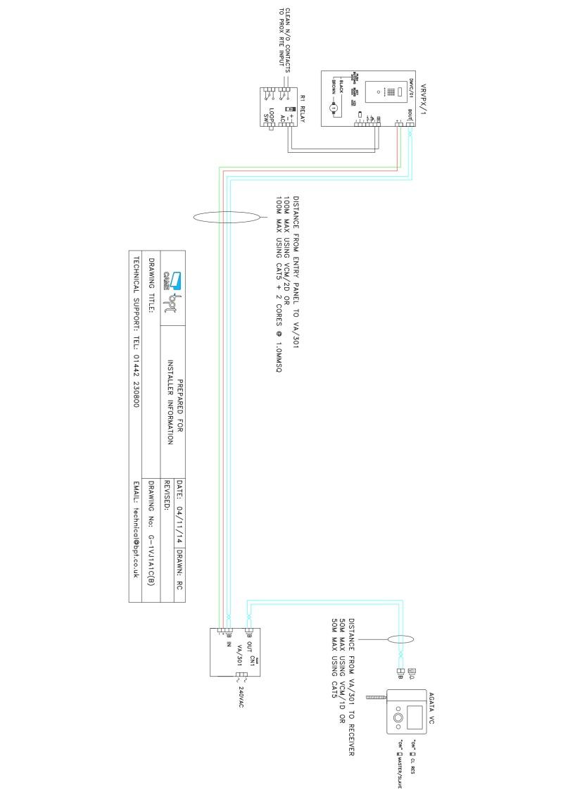 Bpt A 200r Wiring Diagram