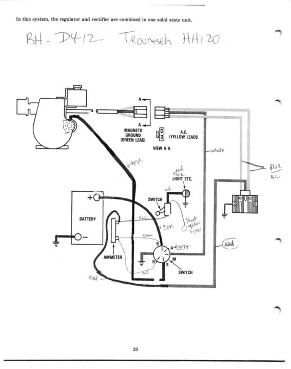 Bush Hog M2561 Wiring Diagram