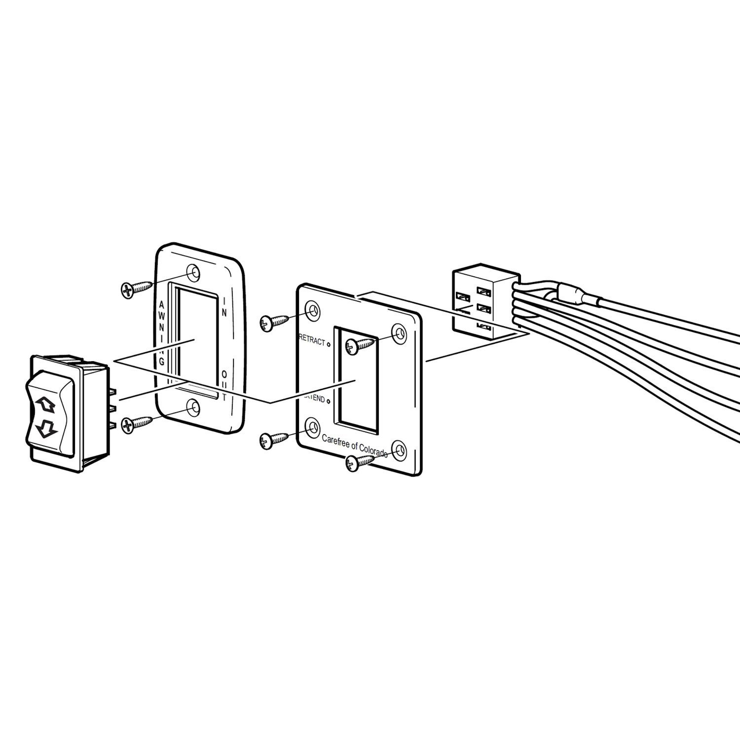 Carefree Awning Switch Wiring Diagram