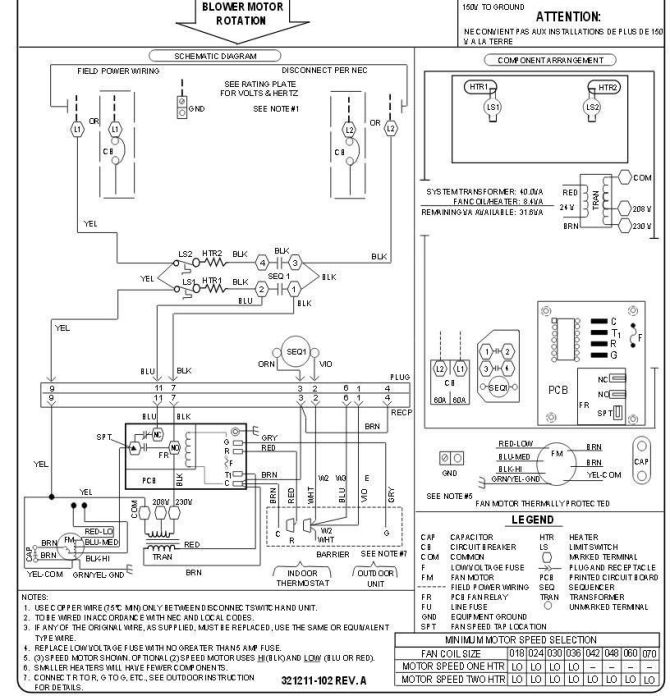 wiring diagram for a carrier air conditioner  icom 21 00h
