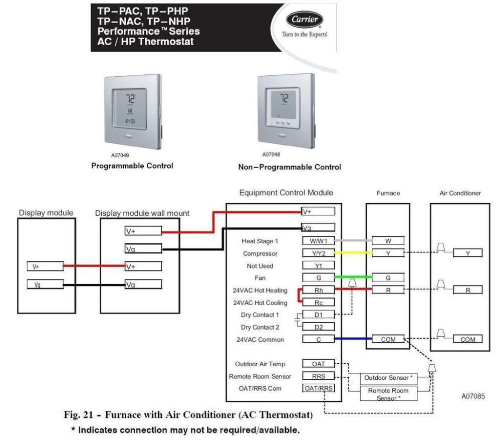 medium resolution of 24vac thermostat wiring diagram