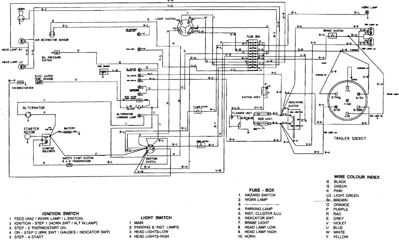 Case 2394 Wiring Diagram