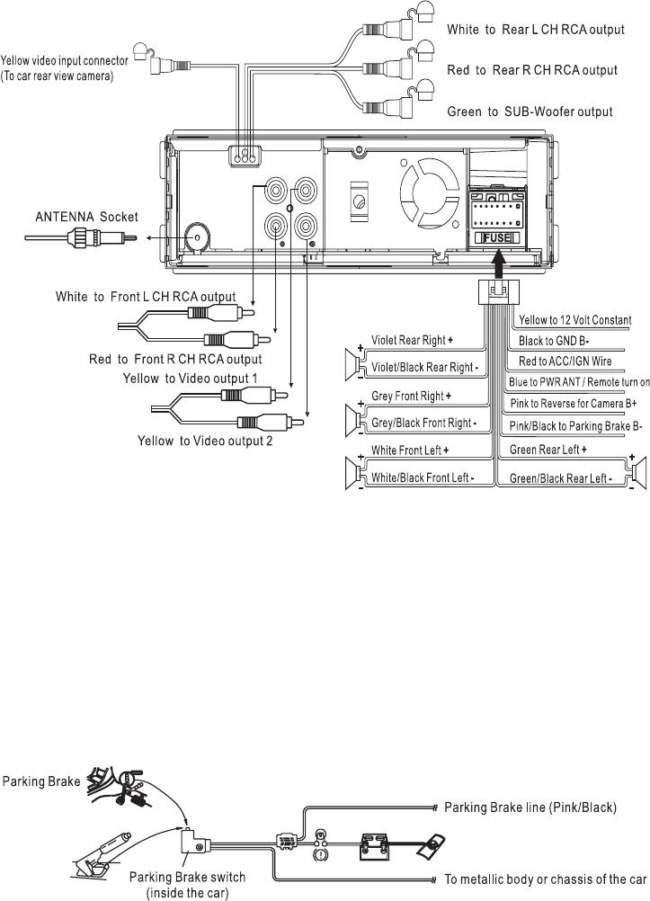 Clarion Cmd8 Wiring Diagram