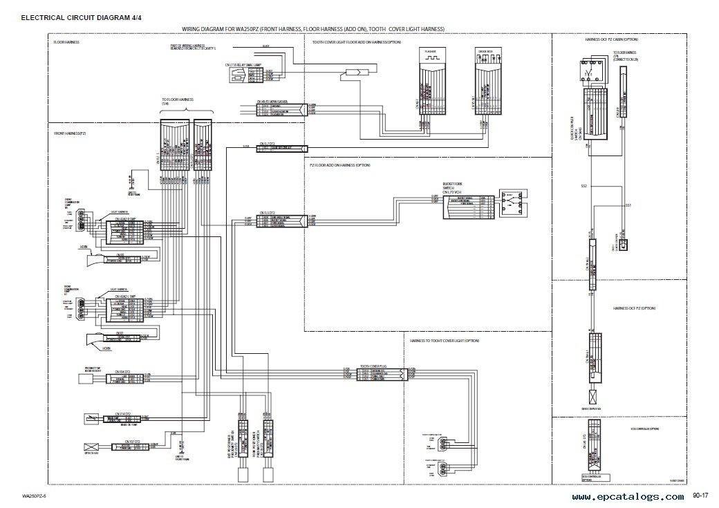 Clg816g Wheel Loader Wiring Diagram