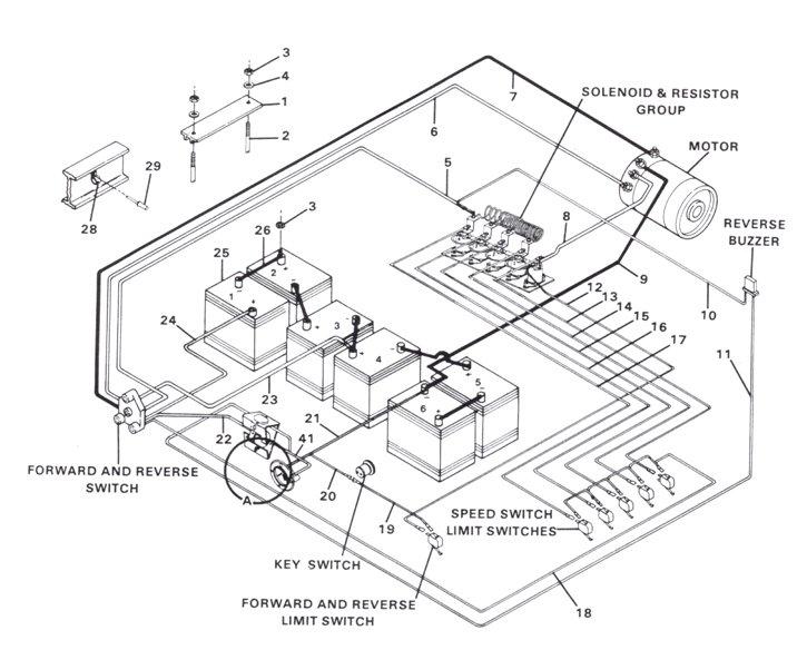 vintage boat wiring diagram schematic