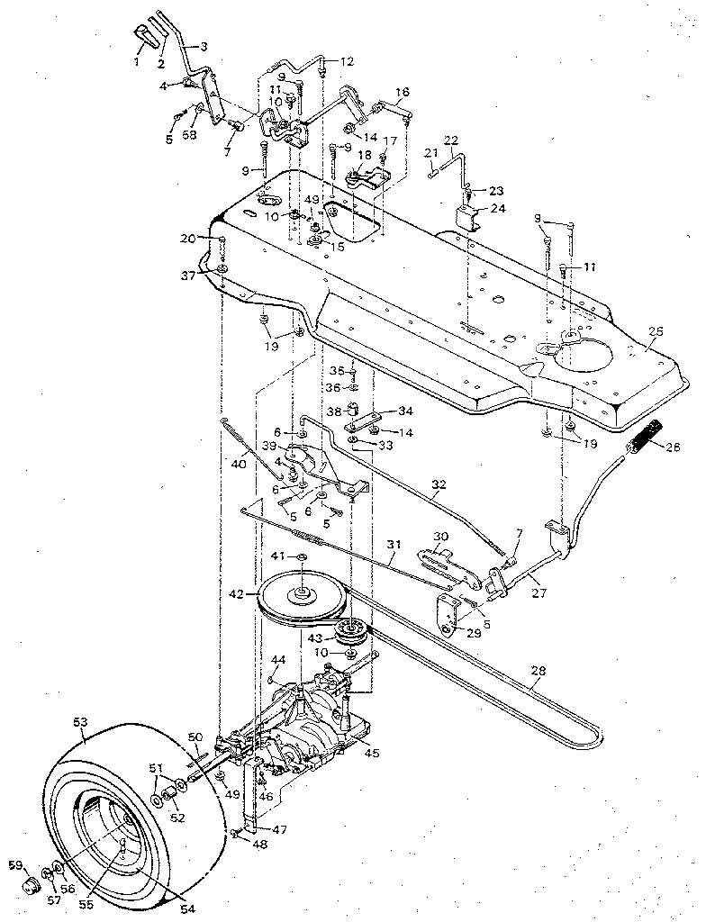 Craftsman Ltx 1000 Parts Diagram