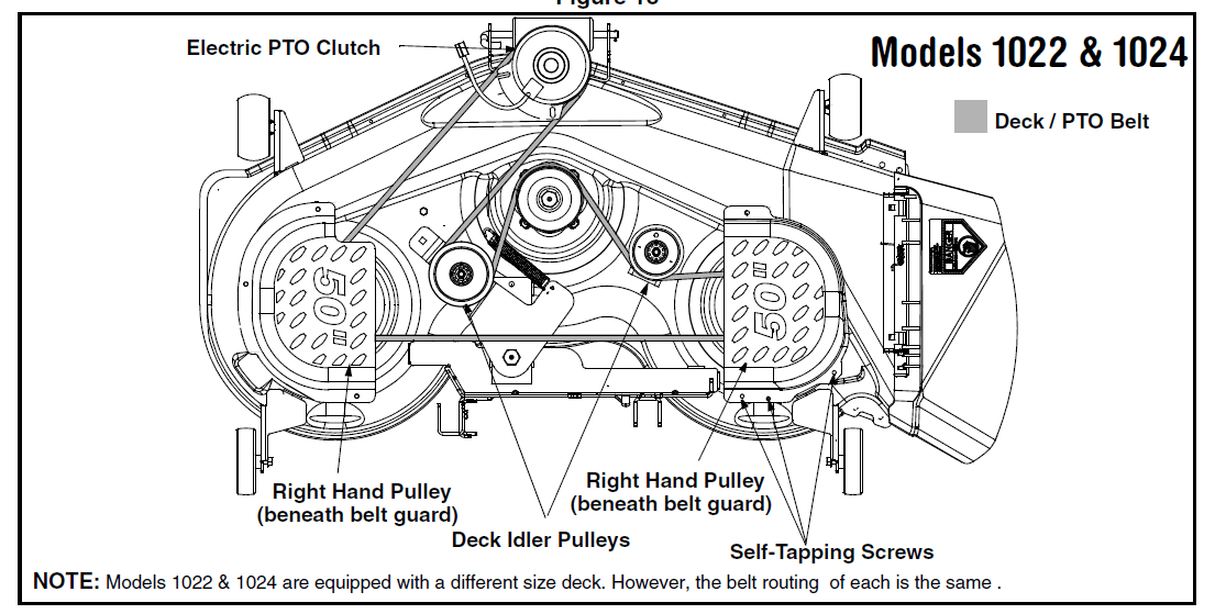 Cub Cadet Lt1050 Belt Routing