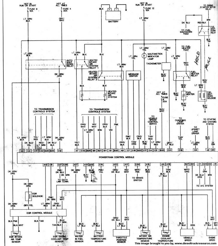 Cummins Dodge Ram 3500 Isb 5.9 Engine Wiring Diagram