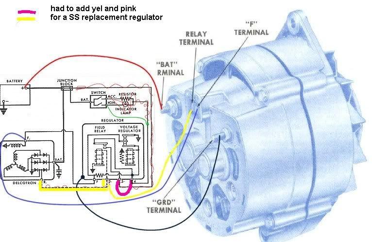 10dn Alternator Wiring Diagram Delco Remy 10dn Wiring Diagram
