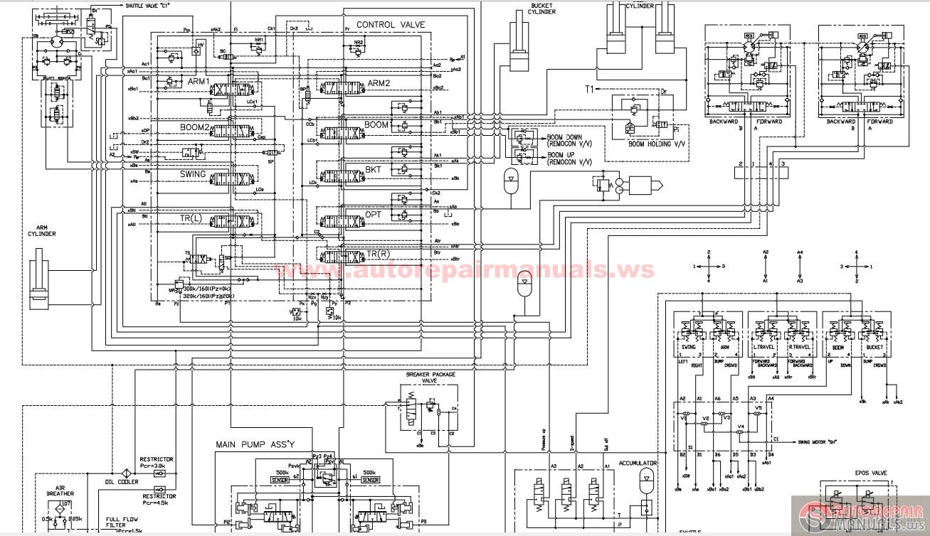 Doosan 80 Wiring Diagram