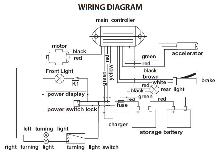Dualtron Controller Wiring Diagram