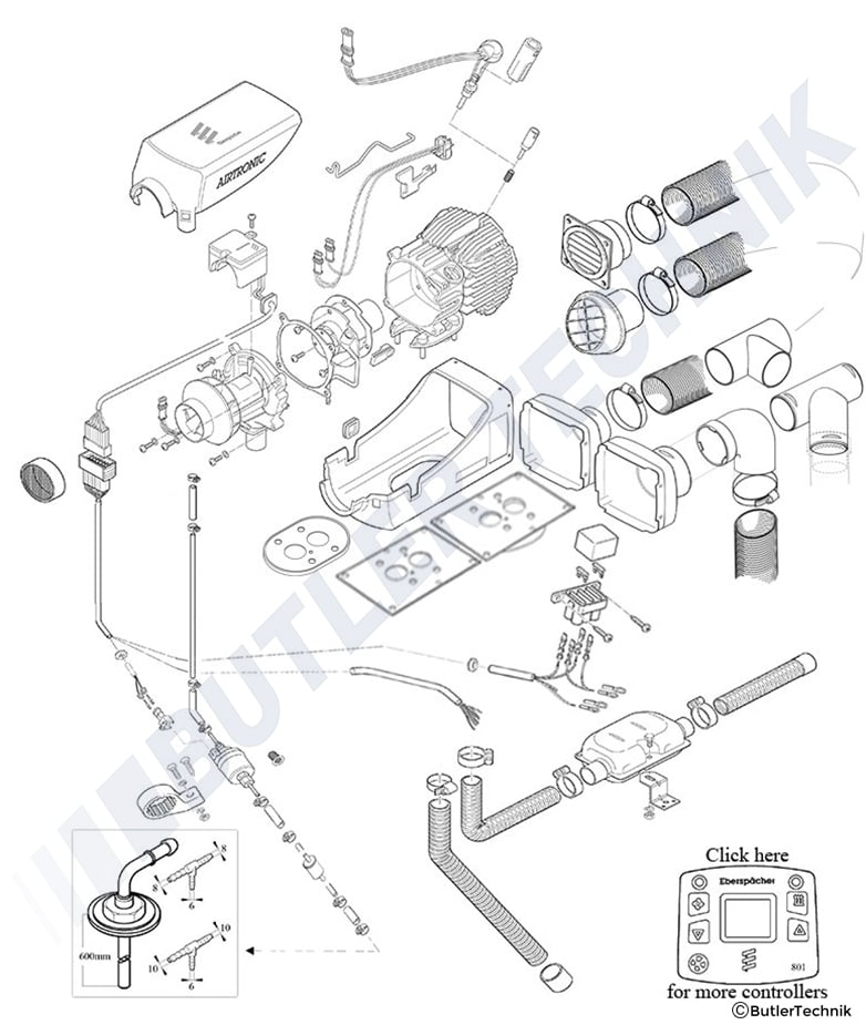 Eberspacher Night Heater Wiring Diagram