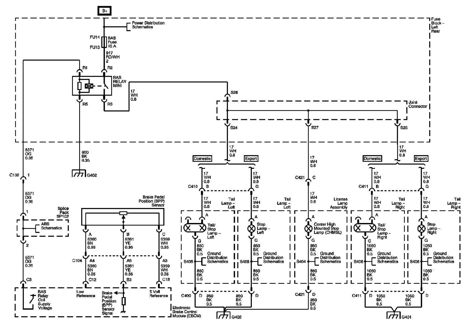 Escalade 5th Wheel Rv Tail Light Wiring Diagram