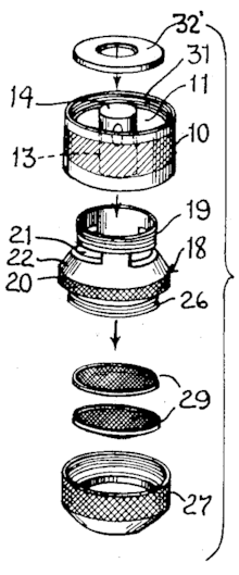 Faucet Aerator Assembly Diagram