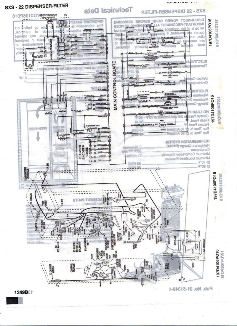 Ge Model.no. 9t51b3 Wiring Diagram