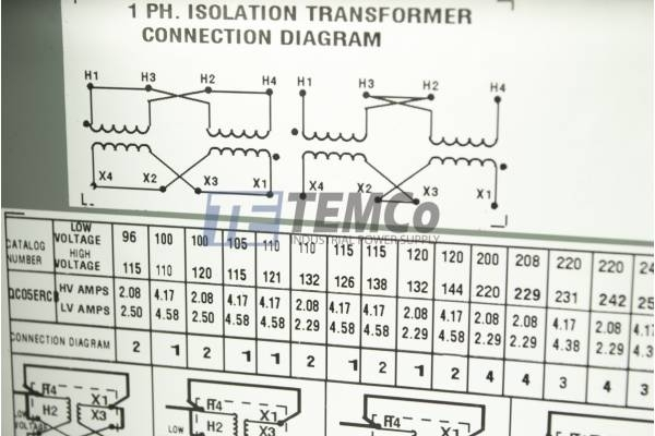 Hammond Transformer C1f005wes Wiring Diagram
