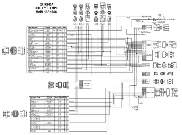 Holley Wiring Diagram 558-104