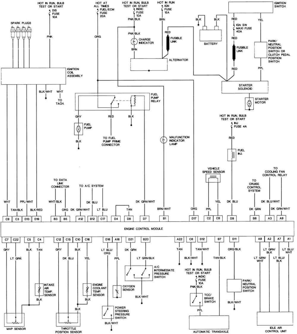 medium resolution of honda d17 ignition coil wiring diagram on 1982 chevy truck ignition wiring diagram