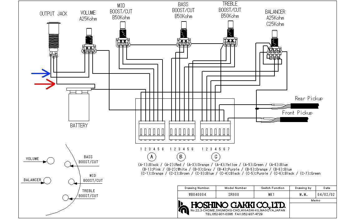 Ibanez Gax70 Wiring Diagram