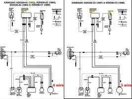 Kdx 250 Wiring Diagram