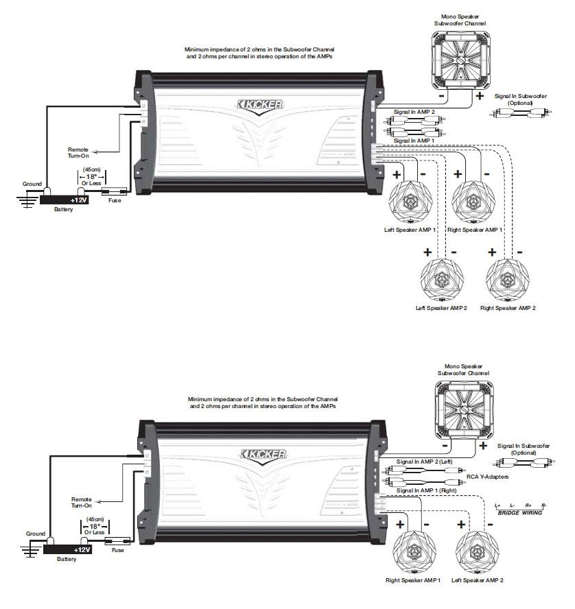 Kicker Cxa300.4 Wiring Diagram