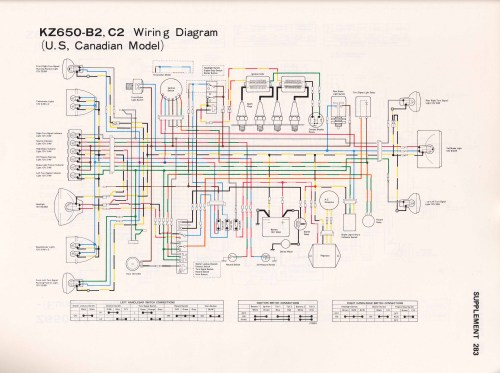 small resolution of 77 kz650 wiring diagram