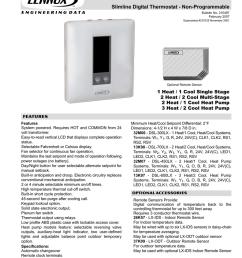lennox heat pump thermostat wiring diagram [ 791 x 1024 Pixel ]