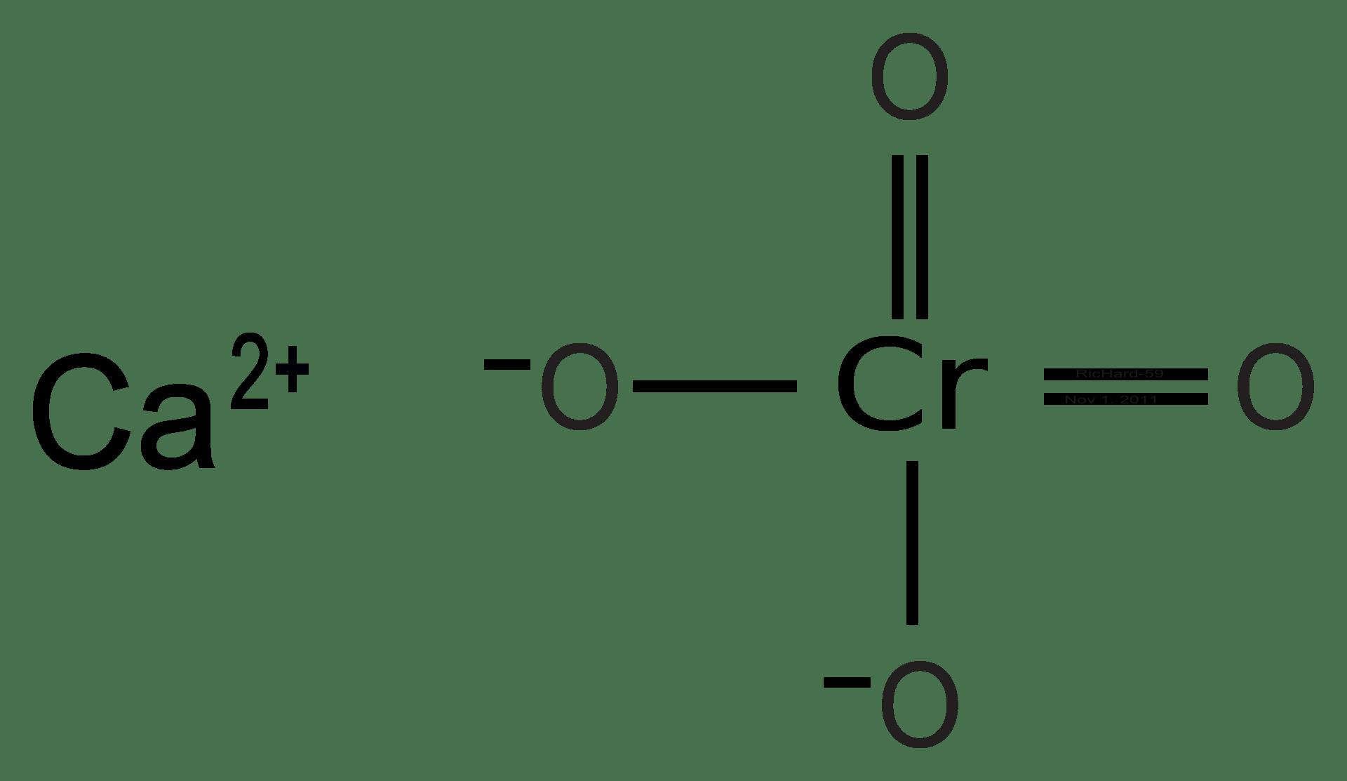 Lewis Dot Diagram For Chromium