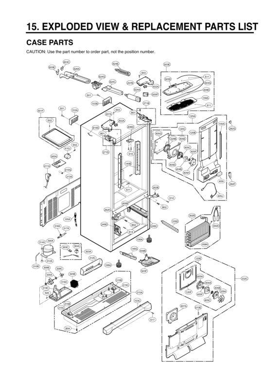 Lg Wm2101hw Parts Diagram