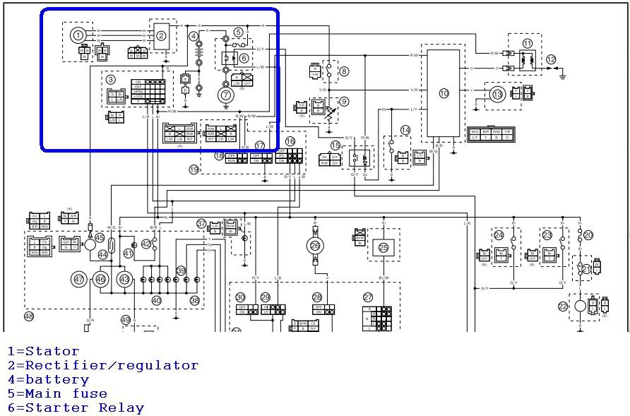 Linhai 260cc Wiring Diagram