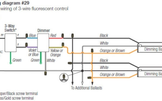 Lutron Maestro 3-way Dimmer Wiring Diagram