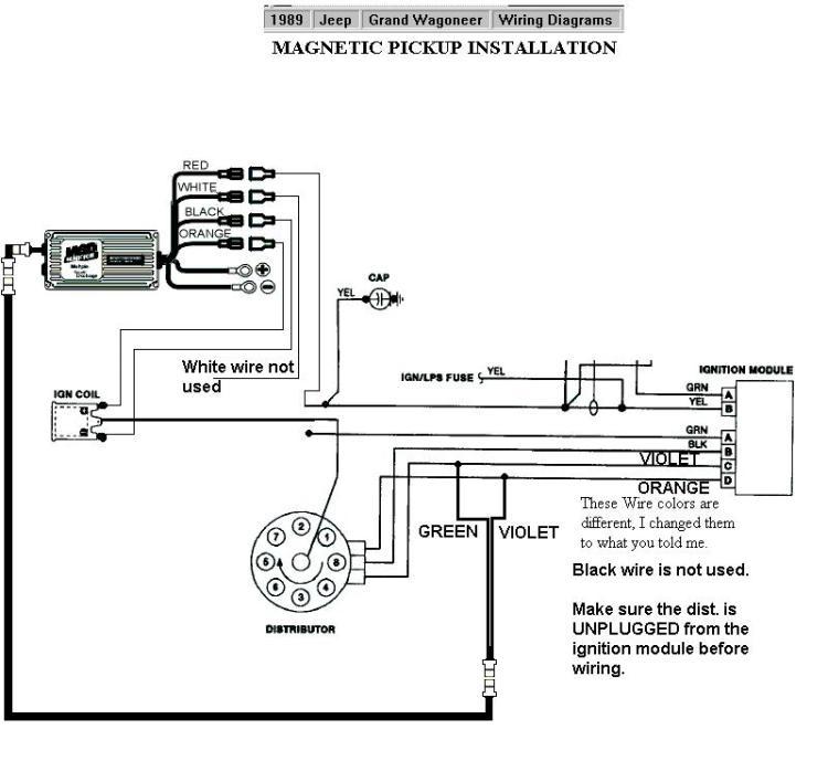 Mallory Hei Distributor Wiring Diagram