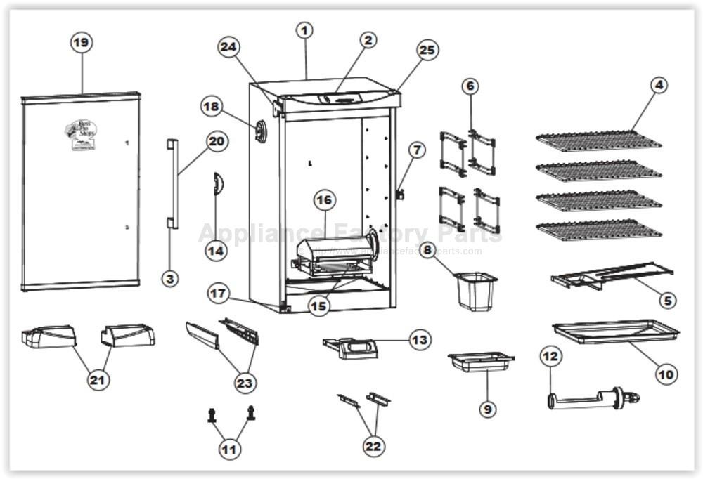 Masterbuilt Smoker Wiring Diagram