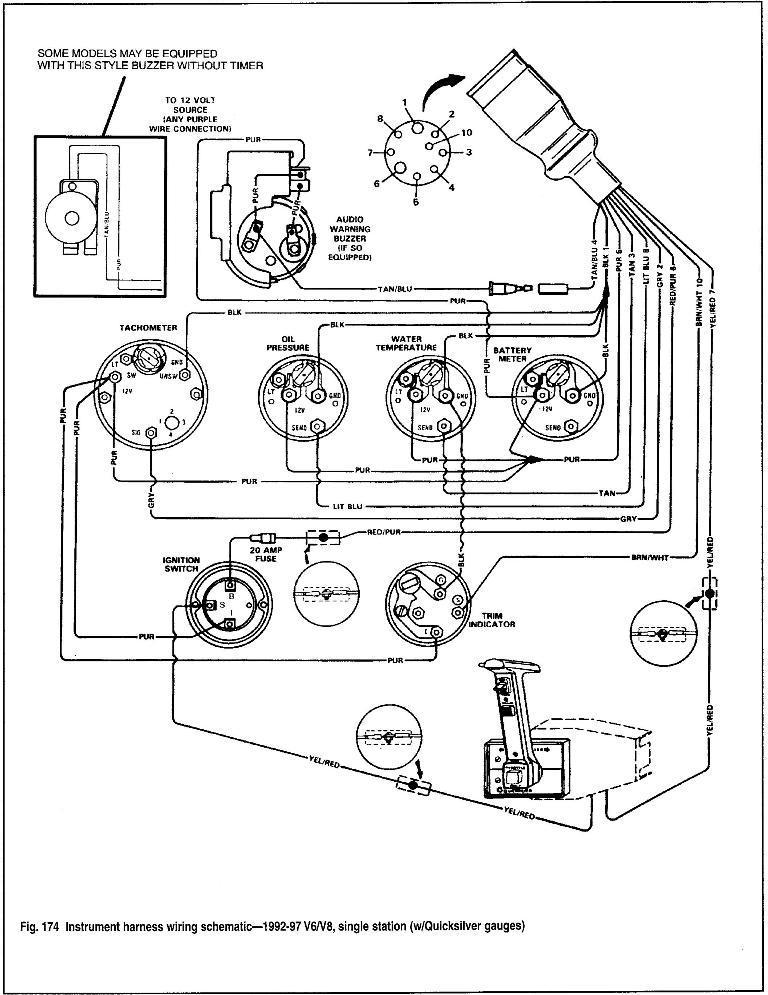 Mercruiser 7.4 Wiring Diagram