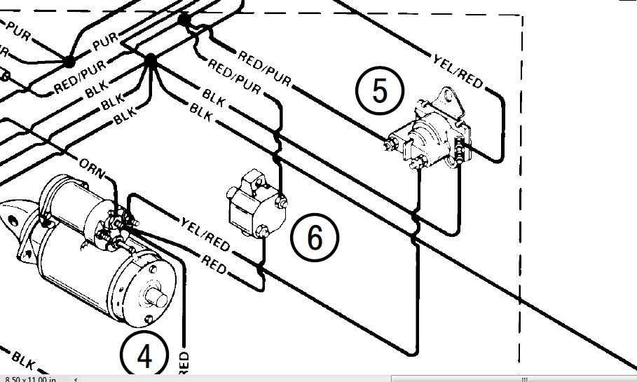 Mercruiser Wiring Diagram For Remote State Slave Selinoid