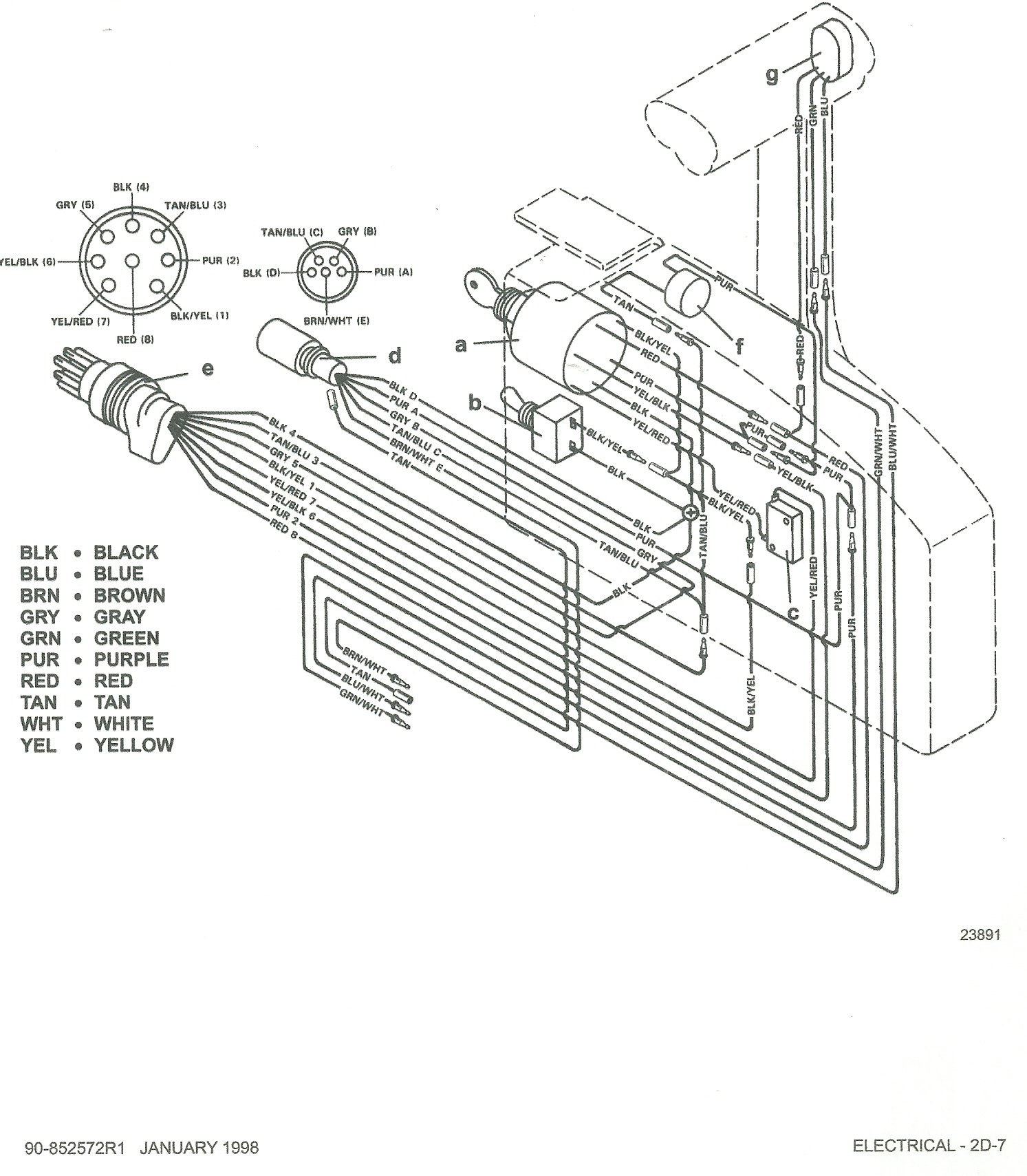 Mercury 40 Elpto Wiring Diagram