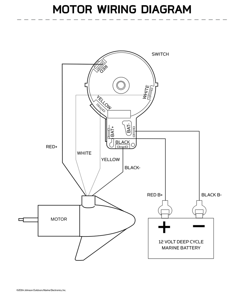 Minn Kota 5 Speed Switch Wiring Diagram