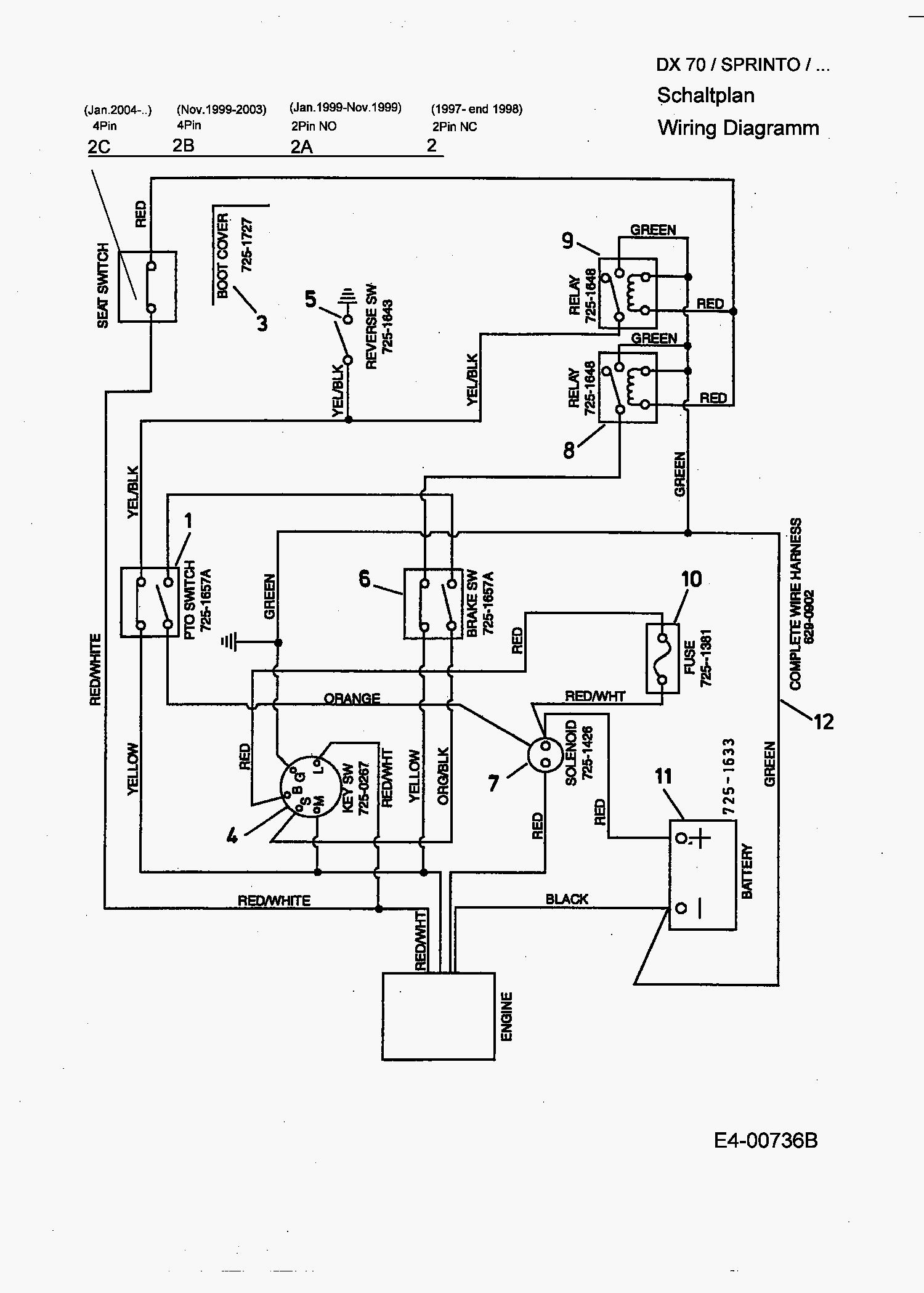 Mtd 13aj608h131 Wiring Diagram