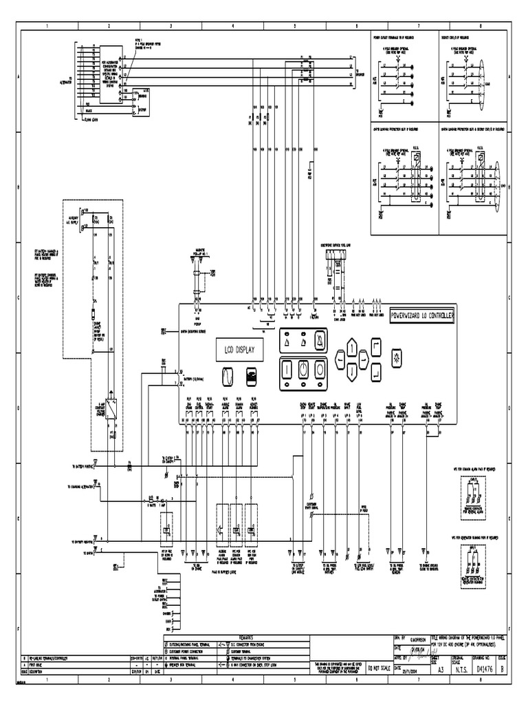Olympian Power Wizard 1.0 Wiring Diagram