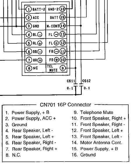 Panasonic Cq-c7301u Wiring Diagram