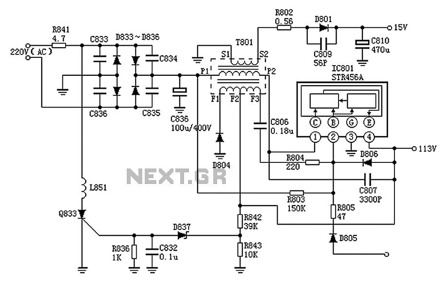 Panasonic E2v1a110. Pcb Wiring Diagram